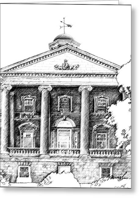 Cupola Digital Art Greeting Cards - Welland Courthouse Greeting Card by Jeanette Charlebois