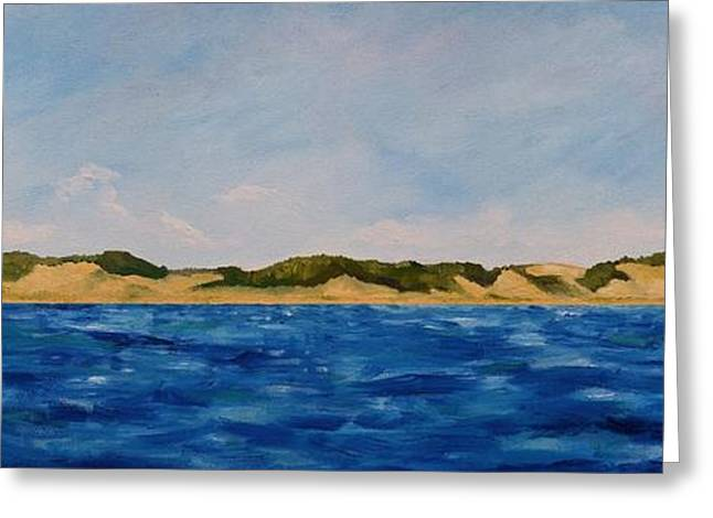 Michelle Greeting Cards - West Michigan Dunes Greeting Card by Michelle Calkins