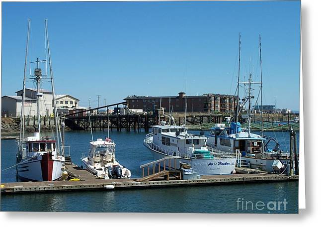 Neurotic Images Photography Greeting Cards - Westport Marina 2 Greeting Card by Chalet Roome-Rigdon