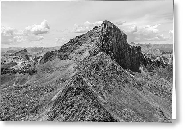Most Photographs Greeting Cards - Wetterhorn Peak Greeting Card by Aaron Spong