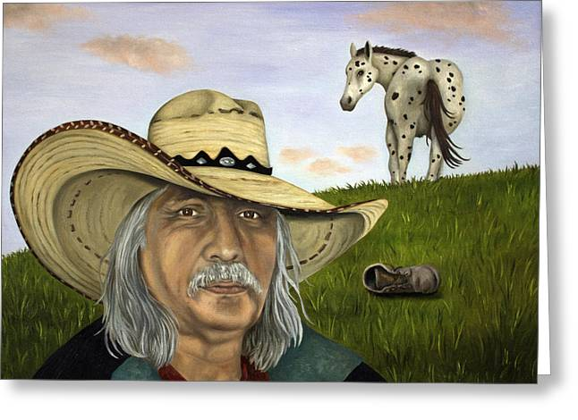 Mexican Horse Greeting Cards - What An Ass Greeting Card by Leah Saulnier The Painting Maniac