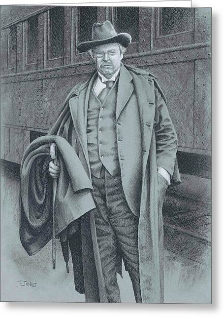 Grisaille Greeting Cards - Where Ought I  Be Greeting Card by Timothy Jones