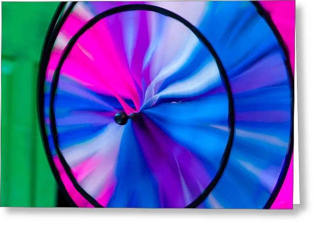Whirligig 3 Greeting Card by David Smith