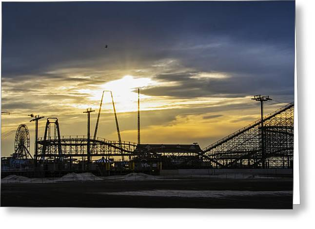 Wildwood Greeting Cards - Wildwood in the Morning Greeting Card by Bill Cannon