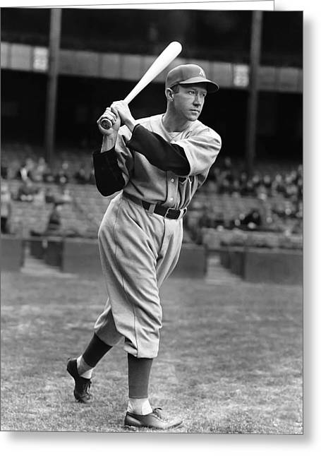 American League Greeting Cards - Wilson D. Dee Miles Greeting Card by Retro Images Archive