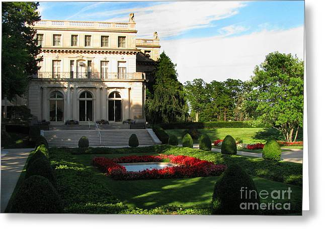 Original Photographs Greeting Cards - Wilson Hall Greeting Card by Colleen Kammerer