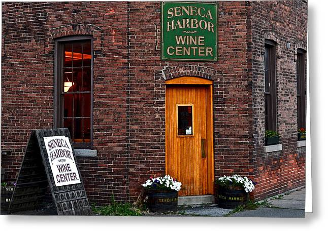 Seneca Greeting Cards - Wine Country Greeting Card by Frozen in Time Fine Art Photography