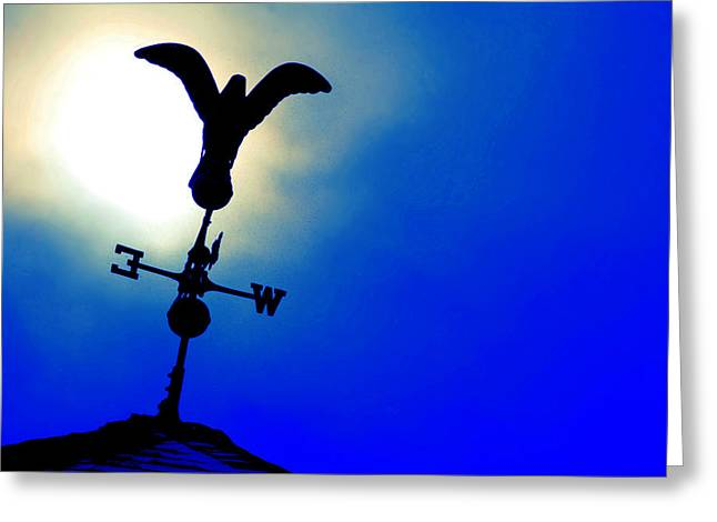 Weathervane Greeting Cards - Winters Chill Greeting Card by Mike Flynn