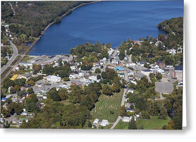 Winthrop Greeting Cards - Winthrop, Maine Me Greeting Card by Dave Cleaveland