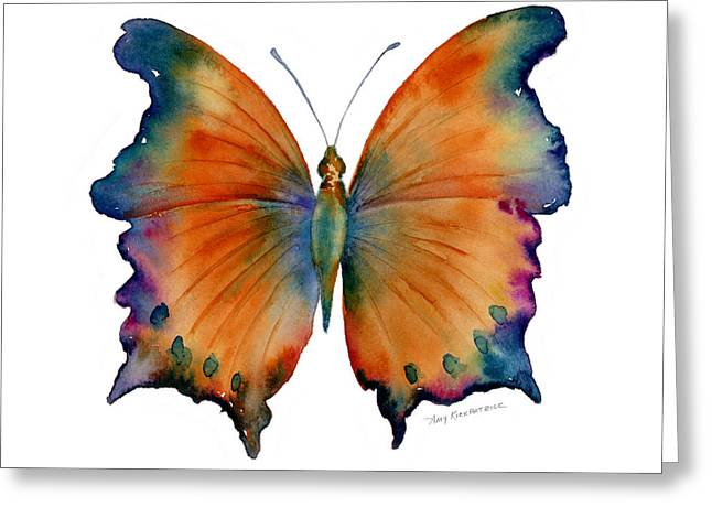 Butterfly Paintings Greeting Cards - 1 Wizard Butterfly Greeting Card by Amy Kirkpatrick