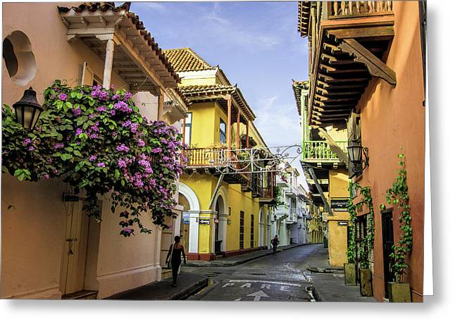 Wonderful Spanish Colonial Architecture Greeting Card by Jerry Ginsberg
