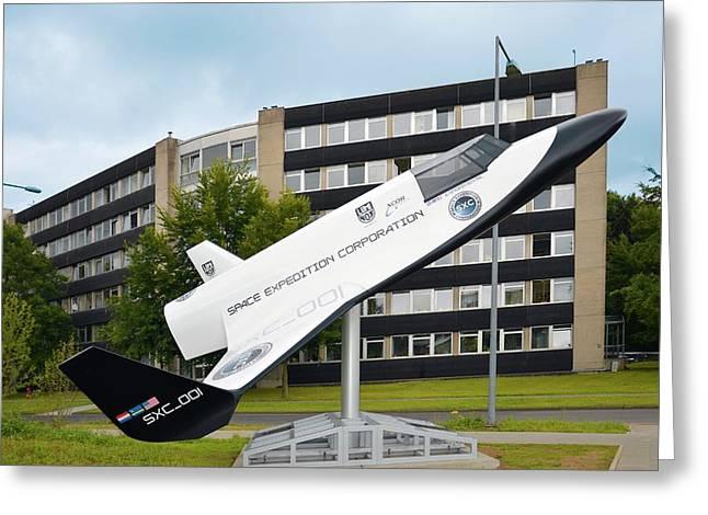Xcor Lynx Commercial Rocketplane Greeting Card by Detlev Van Ravenswaay