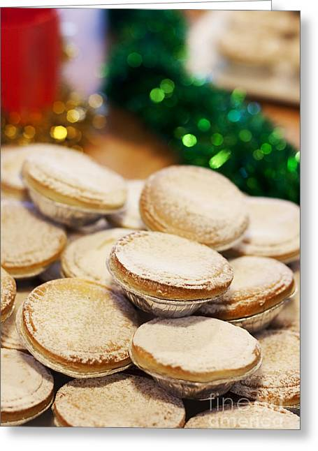 Festivities Greeting Cards - Xmas Mince Pies Greeting Card by Ryan Jorgensen