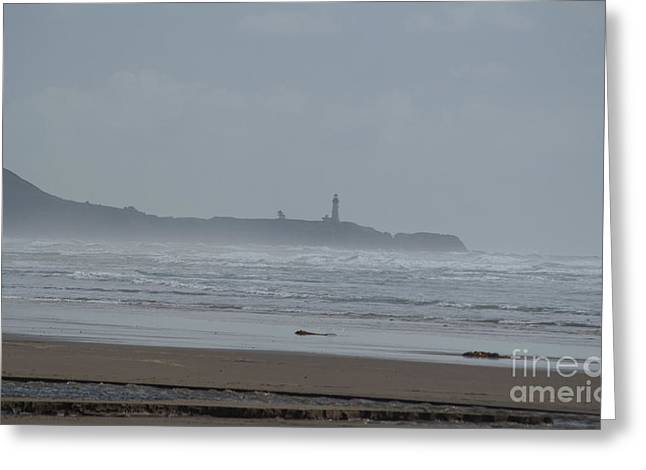 Newport Greeting Cards - Yaquina Head Light House Greeting Card by Mandy Judson