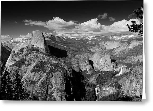 Tony Murray Greeting Cards - Yosemite Greeting Card by Tony Murray