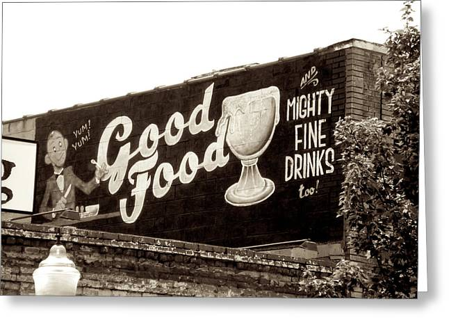 Ghost Signs Greeting Cards - Yum Yum  Greeting Card by Brandon Addis