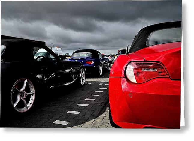 Prodrive Greeting Cards - Z4 Collection Greeting Card by Phil Kellett