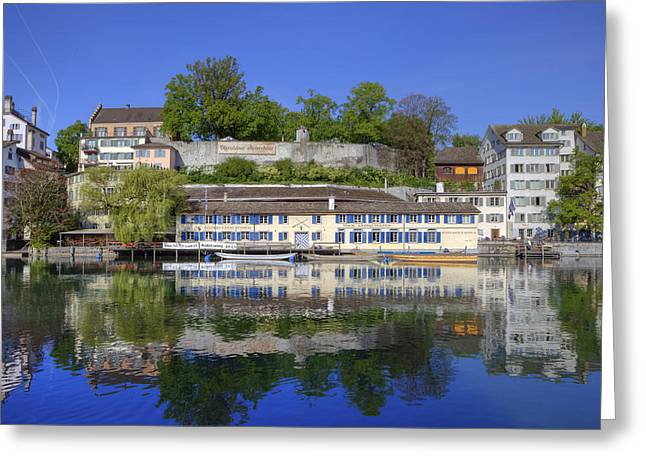 Zurich Greeting Card by Joana Kruse