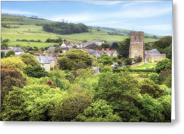 Nicholas Greeting Cards - Abbotsbury Greeting Card by Joana Kruse