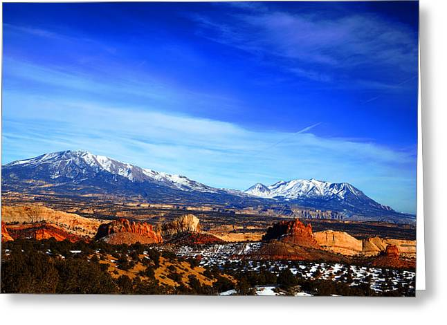 Monolith Greeting Cards - Capitol Reef National Park Burr Trail Greeting Card by Mark Smith