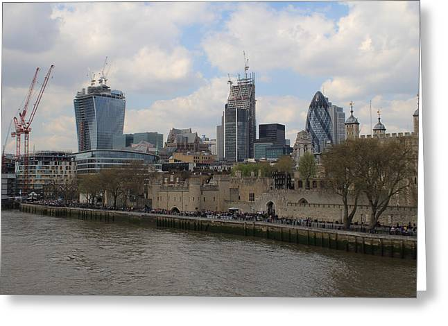 Mile 122 Greeting Cards - City views Greeting Card by Ash Sharesomephotos