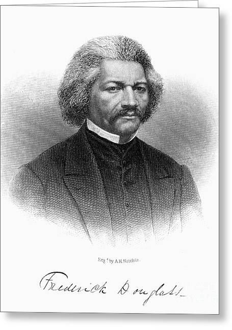 Douglass Greeting Cards - Frederick Douglass Greeting Card by Granger