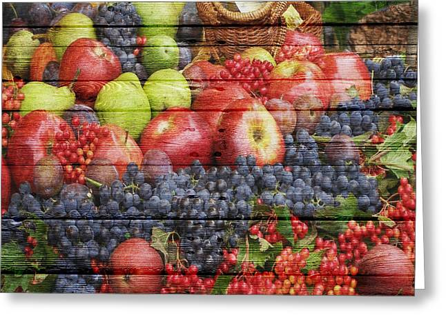 Watermelon Photographs Greeting Cards - Fruit Greeting Card by Joe Hamilton