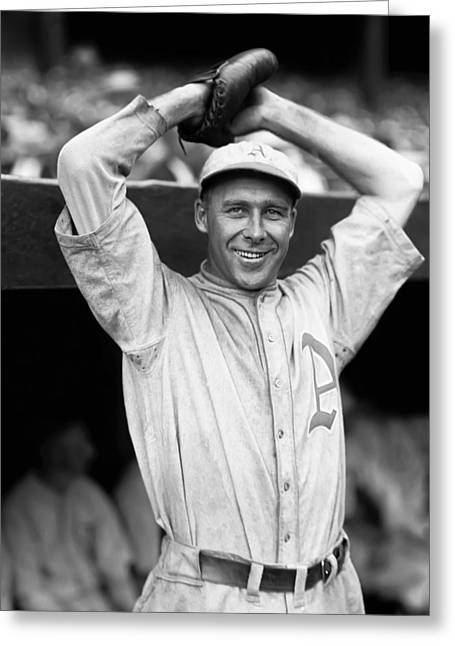 Raised Image Greeting Cards - George E. Rube Walberg Greeting Card by Retro Images Archive