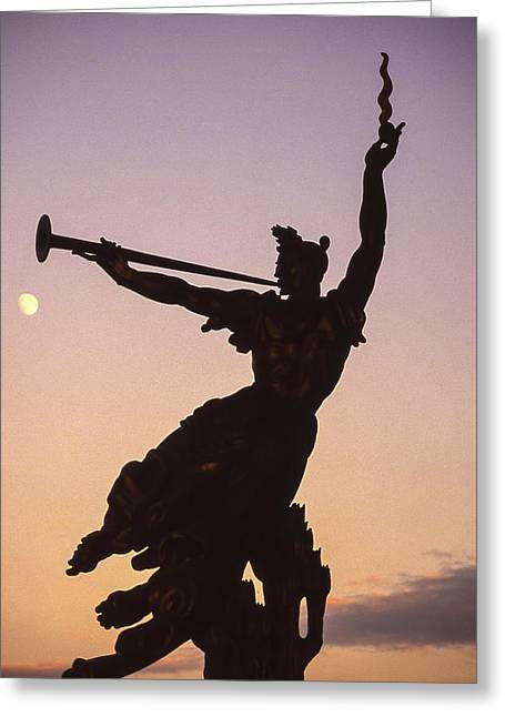 Gettysburg National Military Park Greeting Card by Richard Nowitz