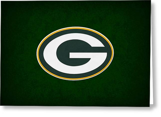 Goals Photographs Greeting Cards - Green Bay Packers Greeting Card by Joe Hamilton
