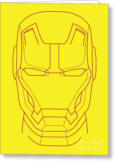 Iron Greeting Cards - Iron Man Greeting Card by Caio Caldas