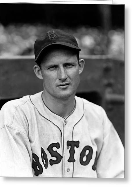 Boston Red Sox Greeting Cards - Jack Russell Greeting Card by Retro Images Archive