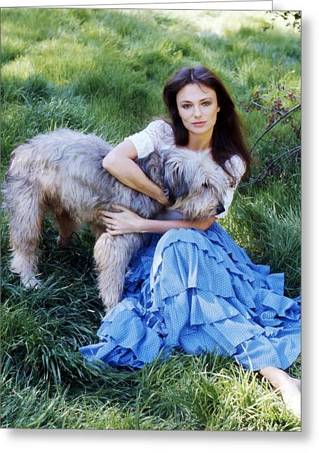 Jacqueline Greeting Cards - Jacqueline Bisset Greeting Card by Silver Screen