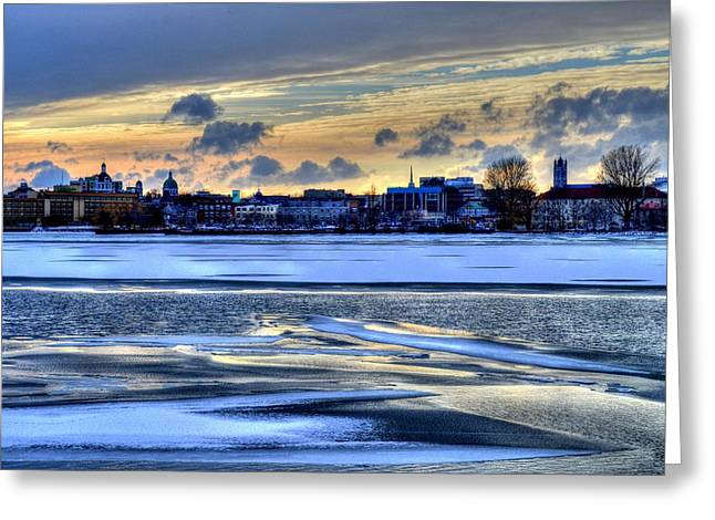 Kingston Greeting Cards - Kingston Ontario Canada Greeting Card by Paul James Bannerman