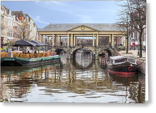 Gracht Greeting Cards - Leiden Greeting Card by Joana Kruse