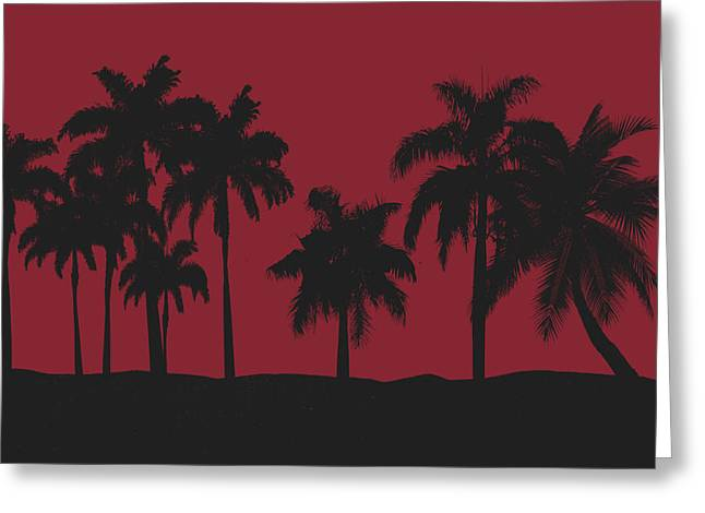 Miami Photographs Greeting Cards - Miami Heat Greeting Card by Joe Hamilton