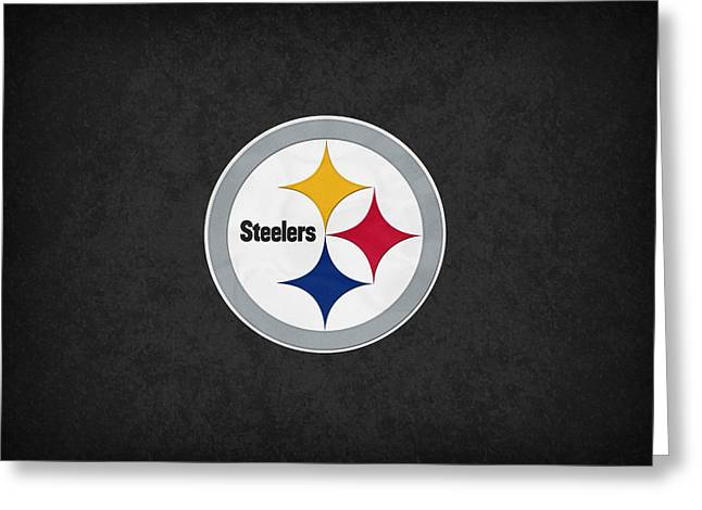 Steelers Greeting Cards - Pittsburgh Steelers Greeting Card by Joe Hamilton