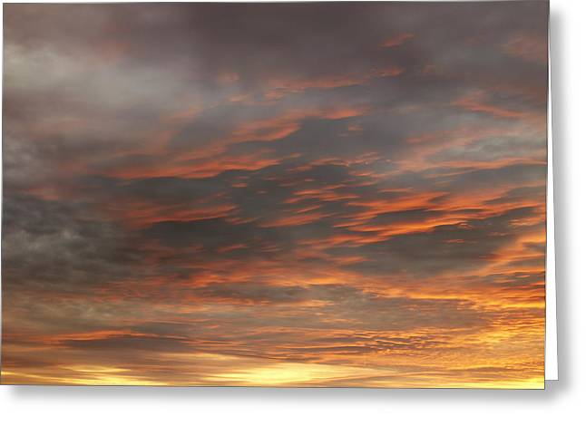 Beautiful Scenery Greeting Cards - Sunset Greeting Card by Les Cunliffe