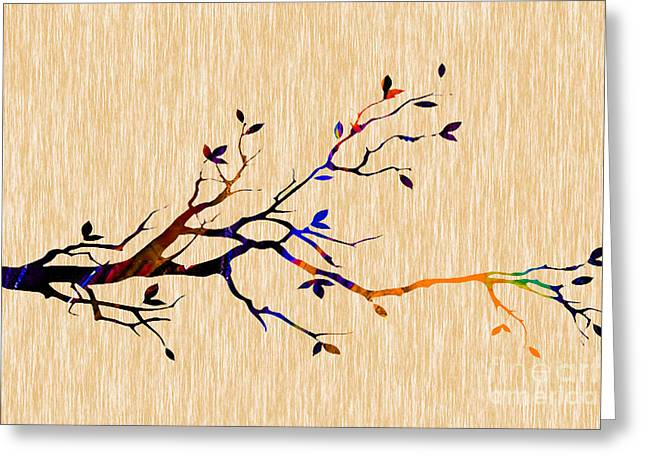 Tree Of Life Greeting Cards - Tree Branch Collection Greeting Card by Marvin Blaine