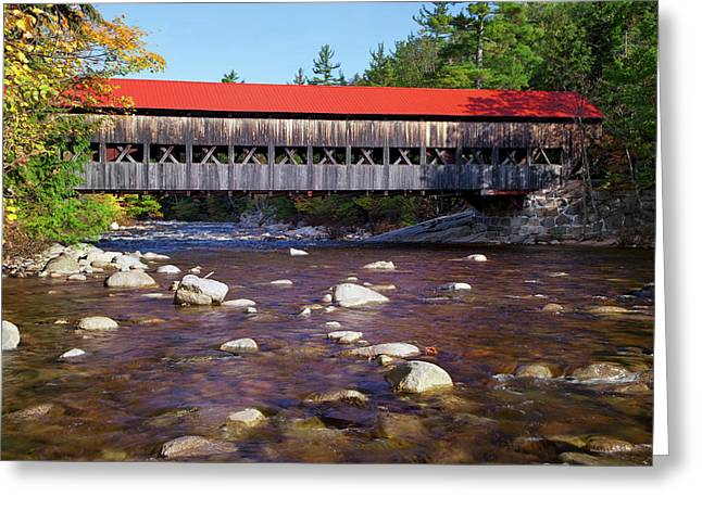 Usa, New Hampshire, White Mountains Greeting Card by Jaynes Gallery