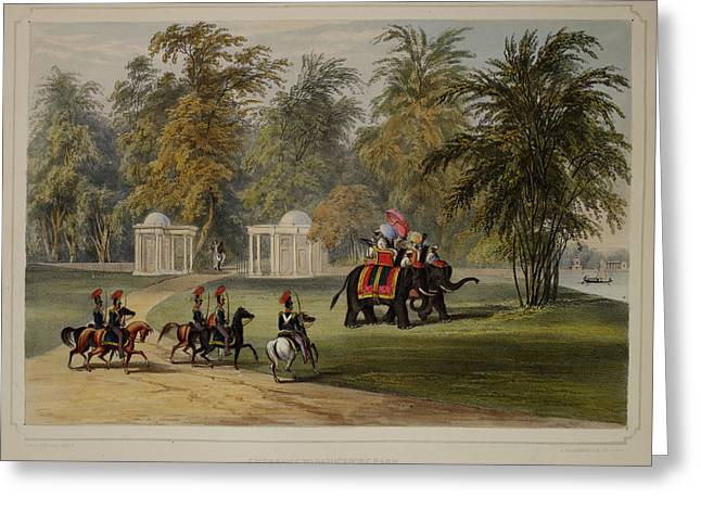 Views Of Calcutta And Its Environs Greeting Card by British Library