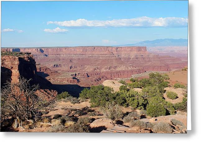 Ghostly Greeting Cards - Canyonlands National Park  9 Greeting Card by Nelson Skinner