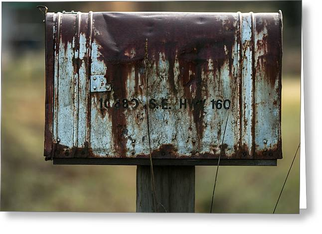 Out-of-date Photographs Greeting Cards - 10680 SE Highway 160 Greeting Card by E Faithe Lester
