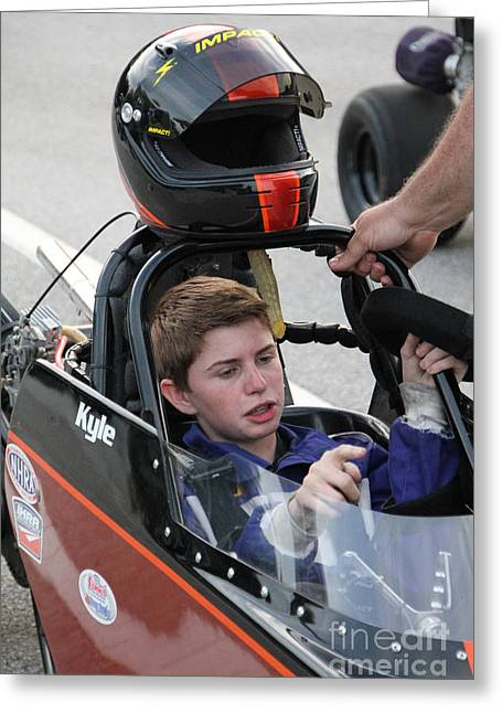 Jr Dragsters 5-10-14 Greeting Card by Jack Norton