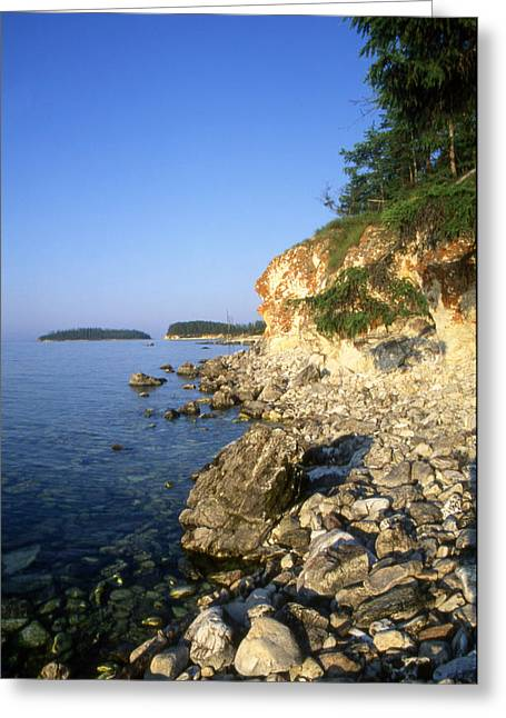 Reserve Greeting Cards - Baikal Greeting Card by Anonymous