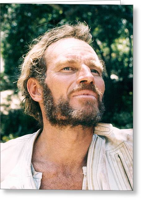 Planet Of The Apes Greeting Cards - Charlton Heston in Planet of the Apes  Greeting Card by Silver Screen