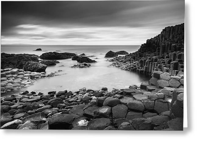 Beautiful Scenery Greeting Cards - Giants Causeway Greeting Card by Pawel Klarecki
