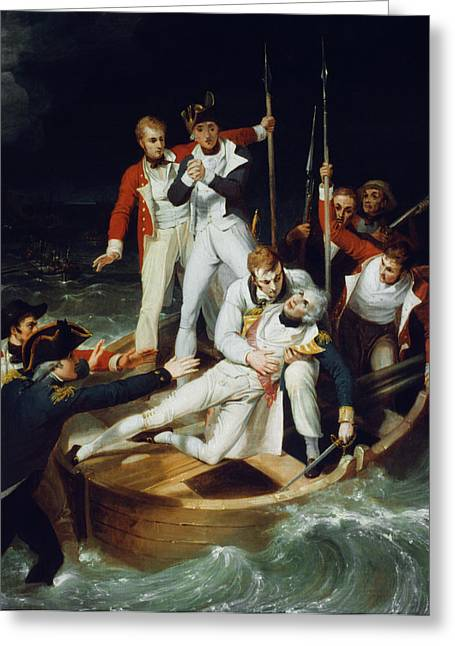 Horatio Nelson (1758-1805) Greeting Card by Granger