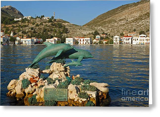 Kastelorizo Island Greeting Card by George Atsametakis