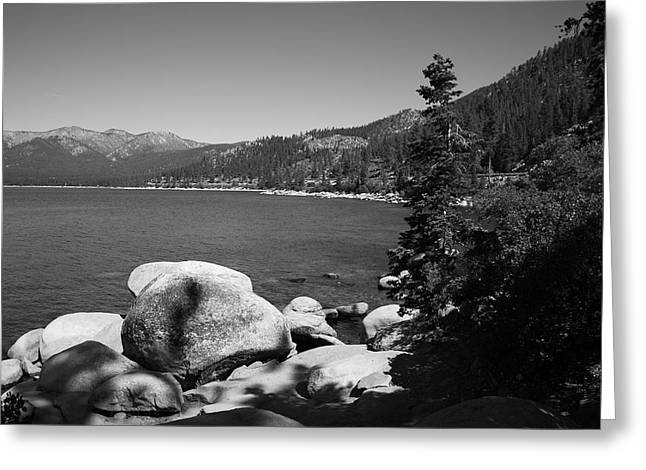Pond Framed Prints Greeting Cards - Lake Tahoe Greeting Card by Frank Romeo